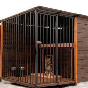 Кованые вольеры для собак