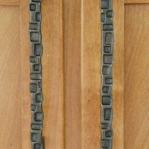 Дверная ручка кованая ГК-ДР-2