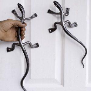 Дверная ручка кованая ГК-ДР-3
