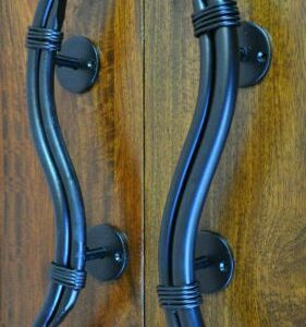 Дверная ручка кованая ГК-ДР-4