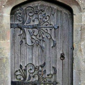 Дверь входная кованая ГК-ДВ-1