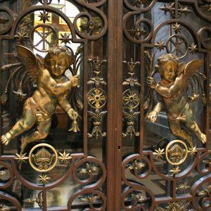 Дверь входная кованая ГК-ДВ-14