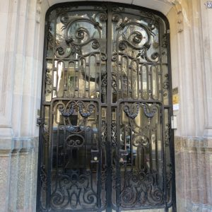 Дверь входная кованая ГК-ДВ-19