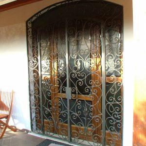 Дверь входная кованая ГК-ДВ-25