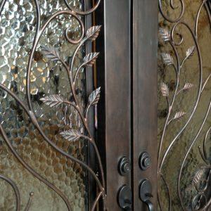 Дверь входная кованая ГК-ДВ-33