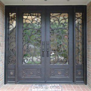 Дверь входная кованая ГК-ДВ-34
