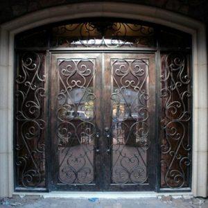 Дверь входная кованая ГК-ДВ-36
