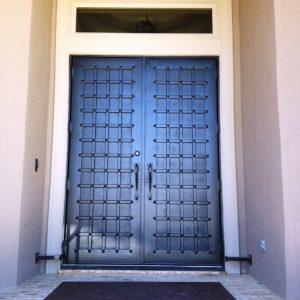Дверь входная кованая ГК-ДВ-4