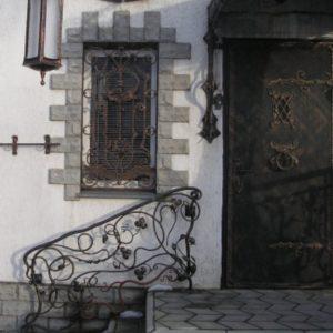 Дверь входная кованая ГК-ДВ-40