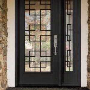 Дверь входная кованая ГК-ДВ-42