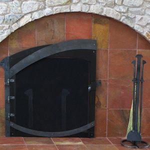 Каминный экран кованый ГК-КЭ-31