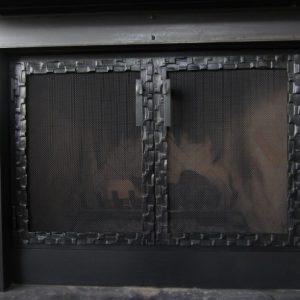 Каминный экран кованый ГК-КЭ-32