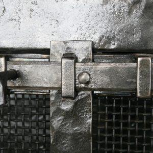 Каминный экран кованый ГК-КЭ-33