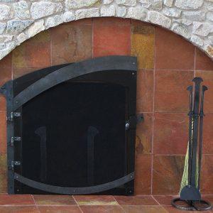 Каминный набор кованый ГК-КН-8