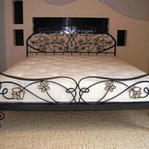 Кровать кованая ГК-КР-16