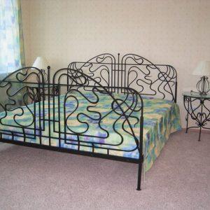 Кровать кованая ГК-КР-21
