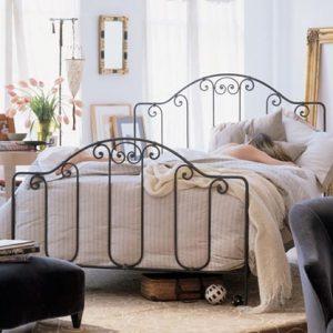 Кровать кованая ГК-КР-9