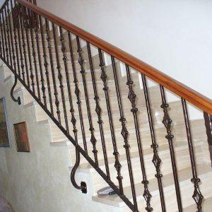 Лестница кованая ГК-ЛЕ-9