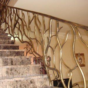 Перила для лестниц ГК-ПЕ-35