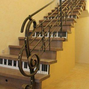 Перила для лестниц ГК-ПЕ-5