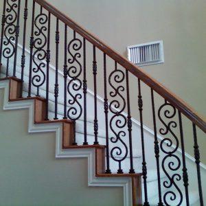 Перила для лестниц ГК-ПЕ-52
