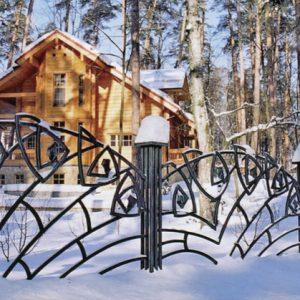 Забор кованый ГК-З-1