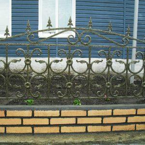 Забор кованый ГК-З-10