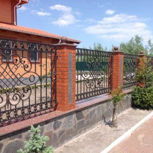 Забор кованый ГК-З-13