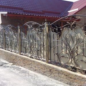 Забор кованый ГК-З-14