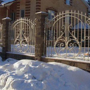Забор кованый ГК-З-15
