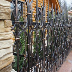 Забор кованый ГК-З-17