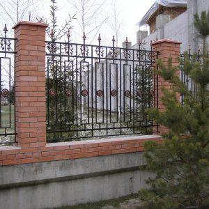 Забор кованый ГК-З-18