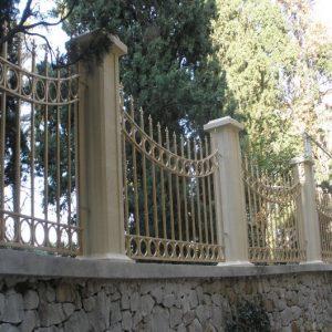 Забор кованый ГК-З-19
