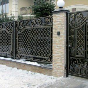 Забор кованый ГК-З-2