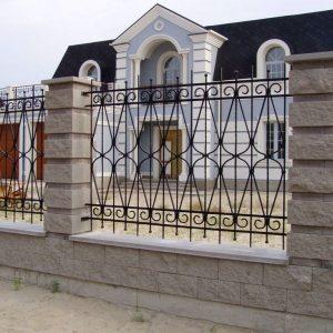 Забор кованый ГК-З-25
