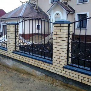 Забор кованый ГК-З-27