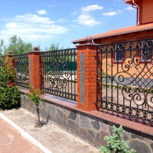 Забор кованый ГК-З-28