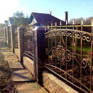 Забор кованый ГК-З-34